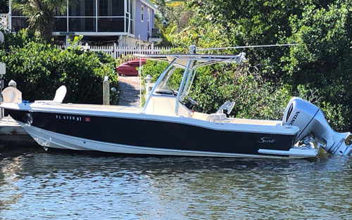 Scout 235 Fishing Boat