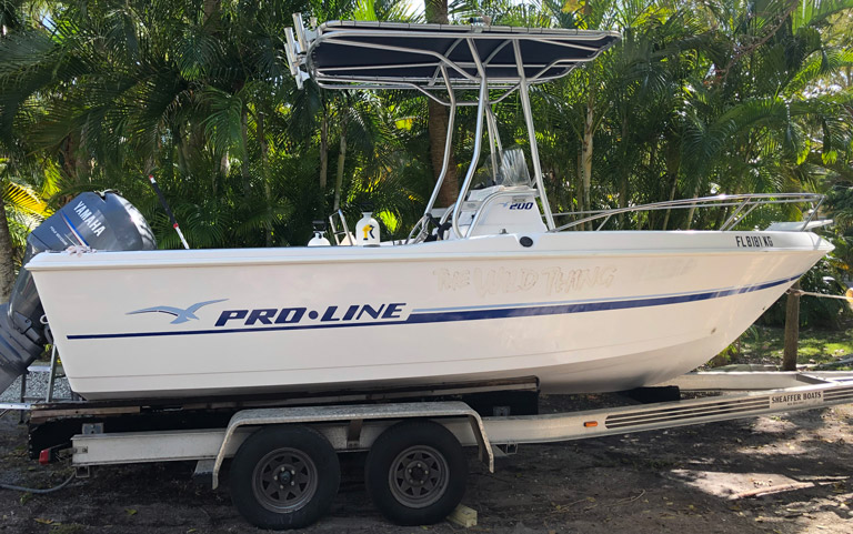 20′ Proline Center Console Fishing Boat